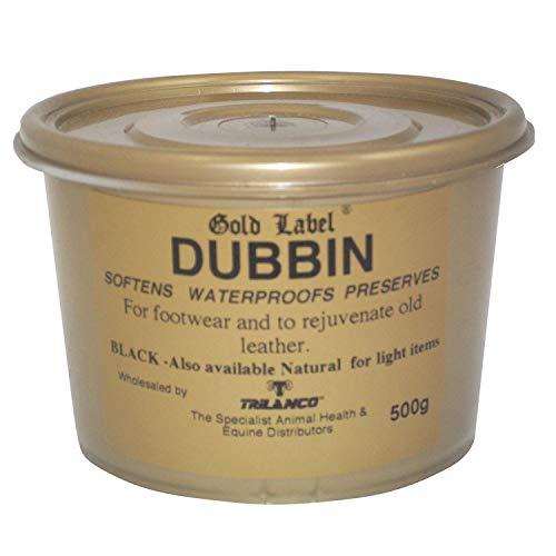 Gold Label - Betún para piel, 500 gr negro negro