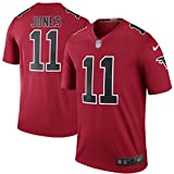 11 Julio Jones Trikot Atlanta Falcons Jersey American Football Shirt Mens Color Rush Legend