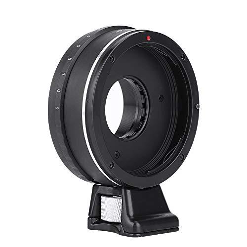 Anillo Adaptador de Lente de cámara para Lente para para Canon EOS para para Nikon J1 S1 J4 V2 V3 V5 Cuerpo de cámara Lente de Apertura Ajustable Manual