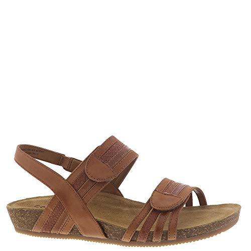 Comfortiva Women's, Gabrielle Low Heel Sandals TAN Multi 9 W