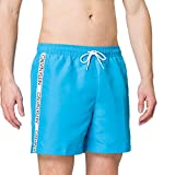 Calvin Klein Medium Drawstring Costume a Pantaloncino, Lexington Blu, M Uomo