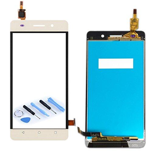 Display LCD Komplett Einheit für Huawei Honor 4C / G Play Mini Reparatur Gold + Werkzeug Opening Tool