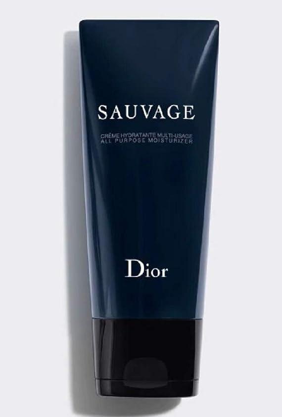 抵抗力がある十分ではない隠された【国内正規品?限定品】Dior ディオール ソヴァージュ オール パーパス モイスチャライザー(保湿クリーム)150ml