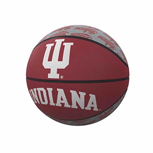 Logo Brands NCAA Indiana Hoosiers Mini-Size Rubber Basketball, Team Color, Miniature