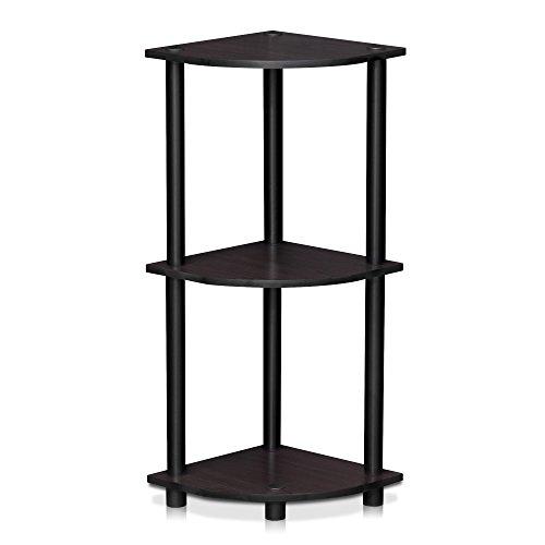 Furinno Toolless Shelves, Wood, Dark Walnut, one size