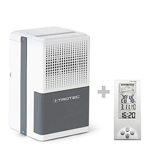 TROTEC Komfort Luftentfeuchter Bautrockner TTK 25 E (max.10 L/Tag), geeignet für Räume bis 37 m³ / 15 m² ink. BZ06