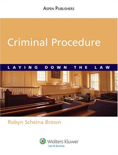 Critically Analyzing Constitutional Criminal Procedure...