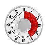 GMZS 60 Minuten Multifunktionale Küchentimer, Magnet-Runde Form Kreative Timer Home...