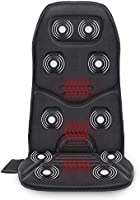 Comfier Massage Seat Cushion with Heat - 10 Vibration Motors, 3 Heating Pad, Back Massager for Chair, Massage Chair Pad...