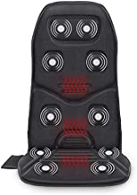 Comfier Massage Seat Cushion with Heat - 10 Vibration Motors Seat Warmer, Back Massager for Chair, Massage Chair Pad for Back Ideal Gifts for Women,Men