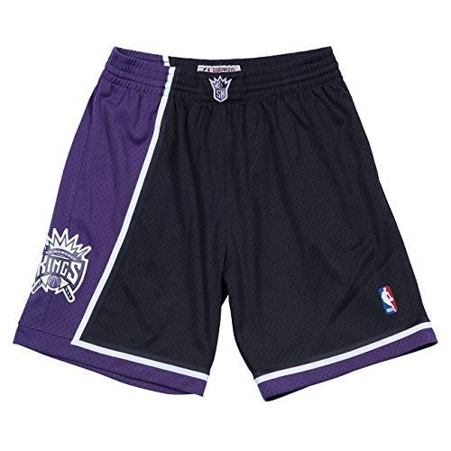 Mitchell & Ness Sacramento Kings 2000-01 Swingman NBA Shorts Schwarz, L