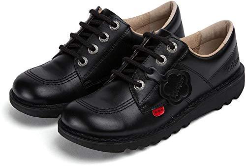 Kickers Kick Lo J Core - Zapatos, unisex, color Negro (Black), talla 33 EU