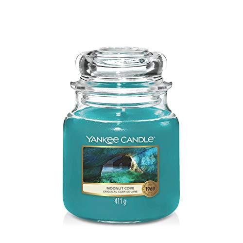 YANKEE CANDLE Candela, Baia al Chiaro di Luna, Classic Medium Jar
