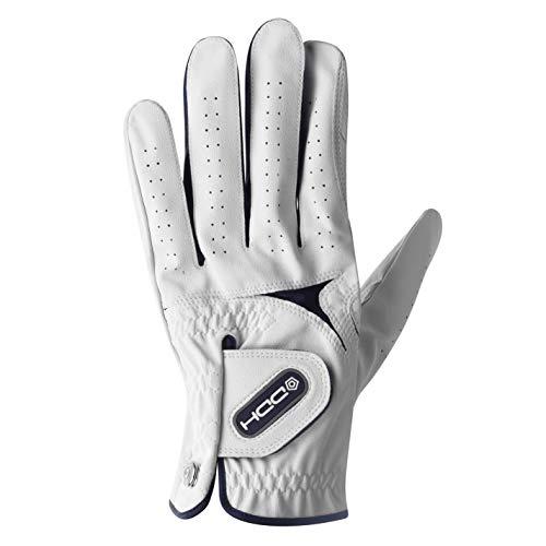 DUNLOP Unisex DDH Tour Fleece Handschuhe Weiß XL-Linke Hand
