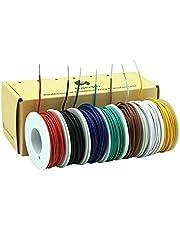 0,82 mm² - 0,05 mm² 18awg-30awg elektronica elektrische draad kit draad vertind koperen kabel 7 kleuren