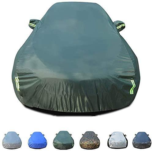 Mmmp Juegos completos de tamaño mediano sedán de coche sala al aire libre impermeable y respirable for el lacrosse, el viento y la cubierta del coche de protección UV polvo compatible con sus opciones
