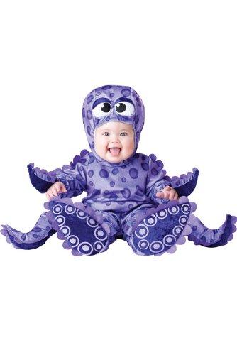 Costume polpo con tentacoli da bebè - 6-12 mesi