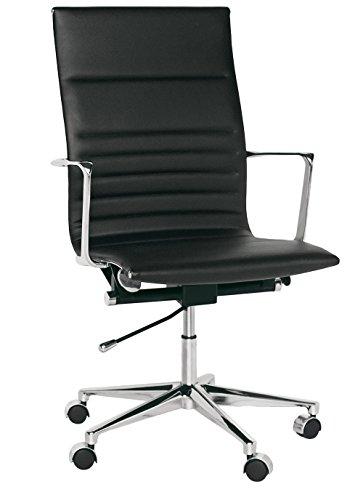 Brianza Outlet Directionele stoel voor kantoor of studio 59 x 50 x 103 cm zwart.