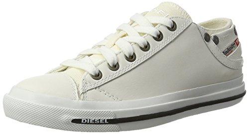 Diesel Damen Magnete Exposure IV Low W-Sneaker Sneakers, Weiß (T1003 T1003), 37 EU