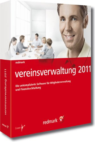 redmark vereinsverwaltung 2011: Die unkomplizierte Software für Mitgliederverwaltung und Finanzbuchhaltung