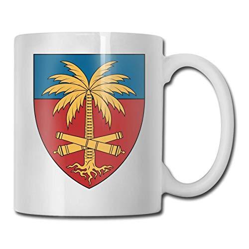 N\A Wappen von Haiti Logo Lustige Kaffeetasse Coole Kaffee-Teetasse Familie und Freund