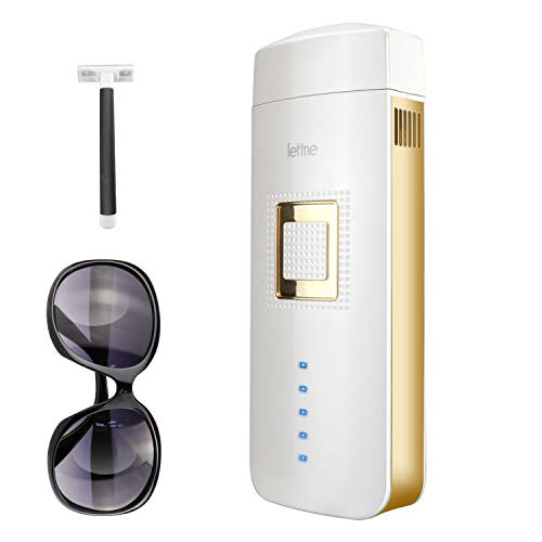 IPL Hair Removal for Women and Men Painless Permanent Hair Removal Device At-Home Laser Hair Remover for Facial Whole Body, Upgrade to Unlimited...
