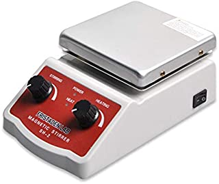 Fristaden Lab SH-2 Magnetic Stirrer Hot Plate Mixer | 100~1600rpm Stirring Speed | 350°C Temperature | 2,000mL Capacity | Lab Quality Hot Plate Stirrer for Liquid Heating and Mixing