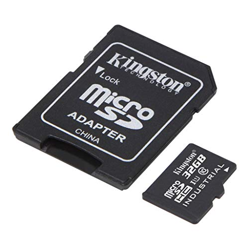 Kingston Industrial Grade 32GB Asus Zenfone 3s Max MicroSDHC Card Verified by SanFlash. (90MBs Works for Kingston)