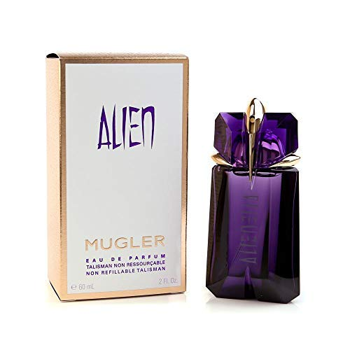 100% Authentic MUGLER Alien women's EDP Non Refill 60ml Made in France + 2 Niche perfume samples free