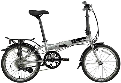 "Dahon Mariner D8 20"" Brushed Silver Folding Bicycle"