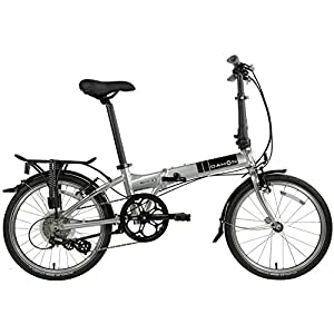 Dahon Mariner Folding Bike 20-inch Wheels (Brushed Silver)