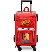 Disney Lightning McQueen Rolling Luggage Cars 3 (Red)