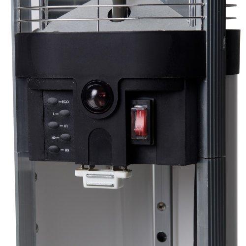 Elektronischer Infrarot Heizstrahler Sirocco mit Fernbedienung - 2