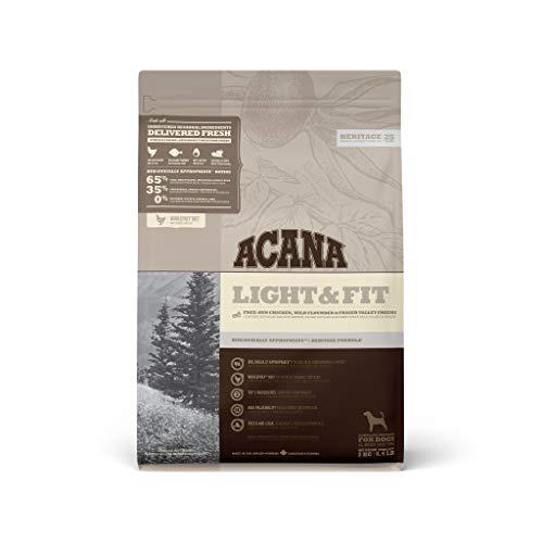 アカナ (ACANA) ドッグフード ライト&フィット [国内正規品] 2kg