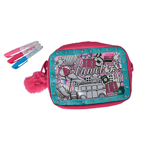 Simba 106374182 106374182-Color Me Mine Glitter Couture Travel Bag