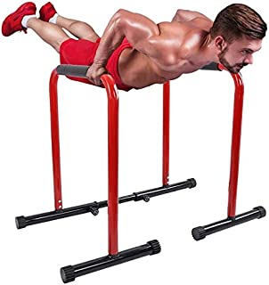 Dip Station Functional Heavy Duty Dip Stands Fitness Workout Dip Bar Station Length and Foam Grips, Design for Your Body E...