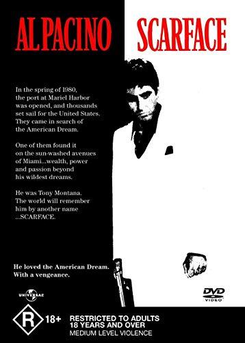 Scarface - Al Pacino(Actor),Michelle Pfeiffer(Actor),Brian De Palma(Director) DVD