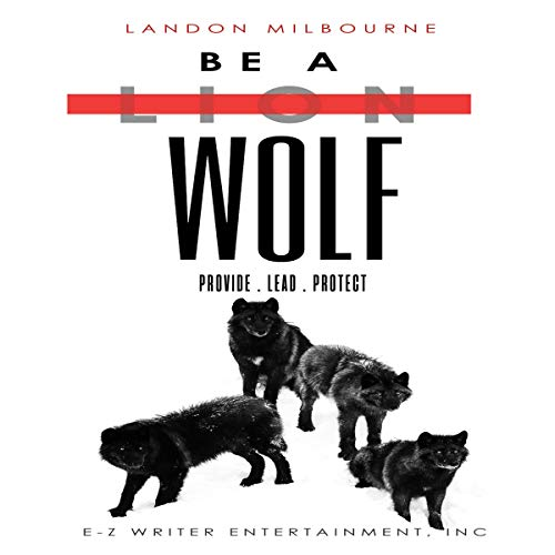 Be a Wolf audiobook cover art