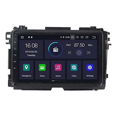RoverOne Android 7.1 Système Voiture GPS Navigation Pour Honda Vezel HRV HR-V 2014-2017 avec Autoradio Radio Stéréo Bluetooth HDMI MirrorLink Quad Core Système Multimédia