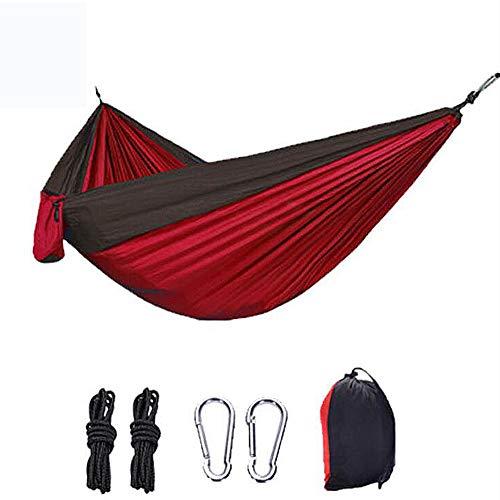 Hamaca de Camping al Aire Libre, jardín de Swing jardín Muebles Colgando Silla Colgante Cojín, Silla de Swing de Red para Colgar para Colgar para la Caza de Viaje Camping