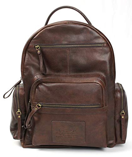 Rawlings Leather Rugged Backpack - Chocolate