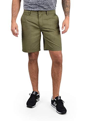 !Solid Thement Herren Chino Shorts Bermuda Kurze Hose Aus 100{bf57cf7d842e0c73081f8881362dc04ef4444cd5ce78dcc676e673a14ef653fe} Baumwolle Regular Fit, Größe:XXL, Farbe:Dusty Oliv (3784)