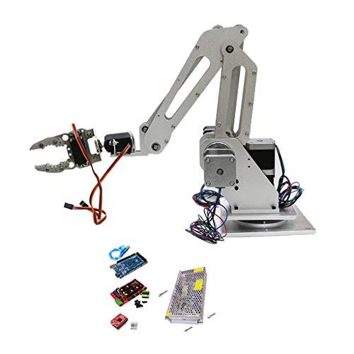 SDENSHI Brazo Manipulador Mecánico Robot con 3 Dof para Robot de Bricolaje, Aprox.102 X 68 mm