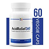 Stop Aging Now - AcidRelief360 Formula with GutGard - Complete Support for Occasional Heartburn - 60 Veggie Caps