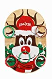 Ringdeer | Reindeer Christmas Ring Toss Game | A Great Gift for Kids, Teens, and Adults | Perfect for Parties and Family Game Night