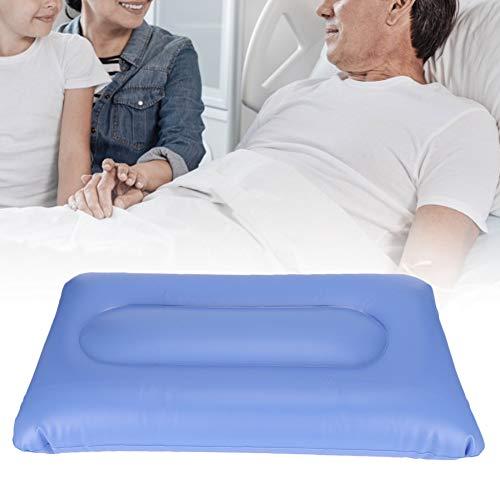 Materasso gonfiabile ad aria, antidecubito e antidecubito, prevenzione del trattamento antidecubito Cuscino antidolorifico con pompa, per assistenza agli anziani(55x32cm)
