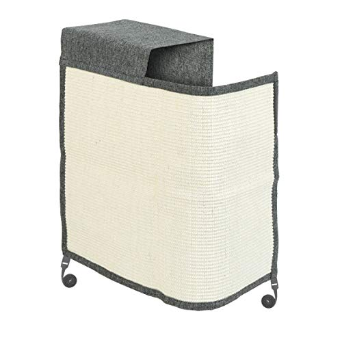 Navaris rascador para Gatos - Protector para Esquina de sofá o sillón - Afilador de uñas de sisal para Mascotas - para el...