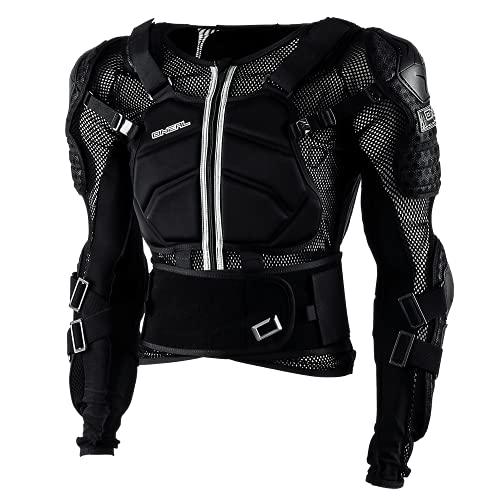 O\'NEAL | Protektoren-Jacke | Motocross Enduro ATV | Verstellbare Stretchbänder, Hochschlagfestes IPX®-Material, Mesh-Paneele zur Kühlung | Underdog Protector Jacke | Erwachsene | Schwarz | Größe L