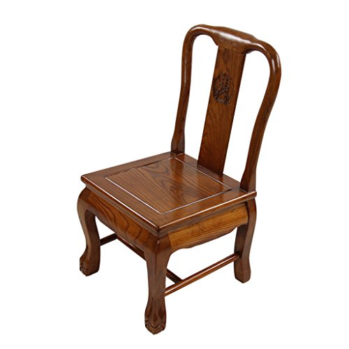 TMY Banc en bois massif Chaise de salle à manger Chaise de canapé Chaise de maison Banc de chaussure Chaise de loisirs Chaise de pied de tigre Tabouret (Color : A, Taille : 36 * 39 * 68CM)