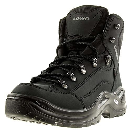 Lowa Schuhe Renegade GTX Mid tiefschwarz (320945-0998) 40 Schwarz
